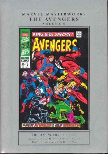 9780785120797: Marvel Masterworks: Avengers 6