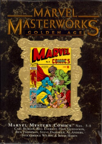 Marvel Masterworks Vol 60 Gold Variant (Golden Age Vol 2) Marvel Myster Comics #5-8
