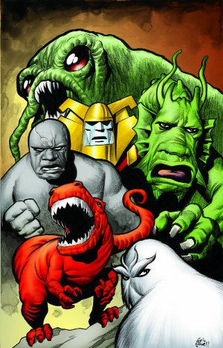 Marvel Monsters (Oversized): Peter David; Jeff Parker; Keith Giffen; Duncan Fegredo; Eric Powell; ...