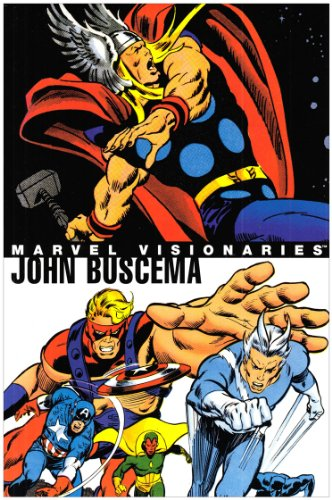 9780785121619: Marvel Visionaries: John Buscema HC (Oversized)
