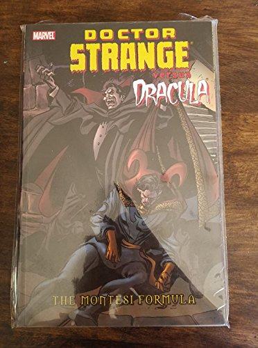 9780785122449: Dr. Strange Vs. Dracula: The Montesi Formula TPB