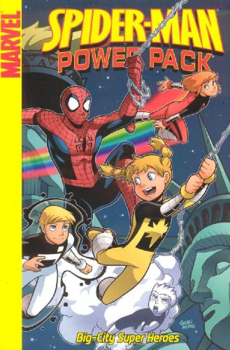 9780785123576: Spider-Man And Power Pack: Big-City Super Heroes Digest