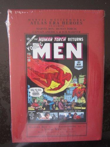 9780785124085: Marvel Masterworks Presents Atlas Era Heroes: 1