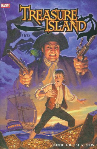 9780785125945: Marvel Illustrated: Treasure Island Premiere HC (Marvel Classics)