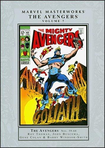 9780785126805: Marvel Masterworks: Avengers 7