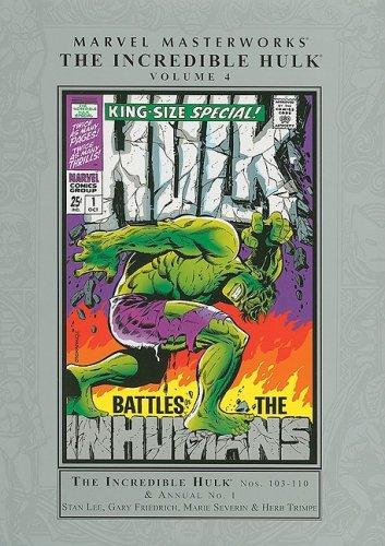 9780785126829: Marvel Masterworks: Incredible Hulk - Volume 4 (Marvel Masterworks (Numbered))