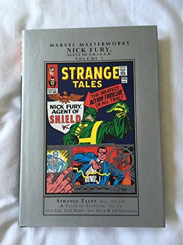 9780785126867: Marvel Masterworks: Nick Fury, Agent of S.H.I.E.L.D. Vol. 1