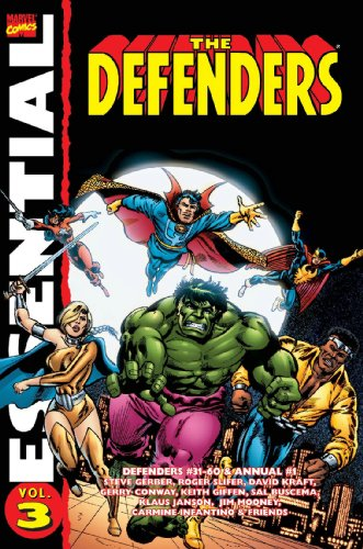 Essential Defenders, Vol. 3 (Marvel Essentials) (v. 3) (0785126961) by Steve Gerber; Gerry Conway; David Anthony Kraft; Roger Slifer; John Warner; Don McGregor; Chris Claremont; Ed Hannigan