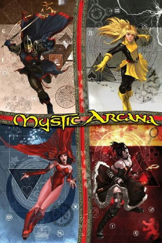 Mystic Arcana (Marvel Comics): Roy Thomas and Jeff Parker and C. B. Cebulski