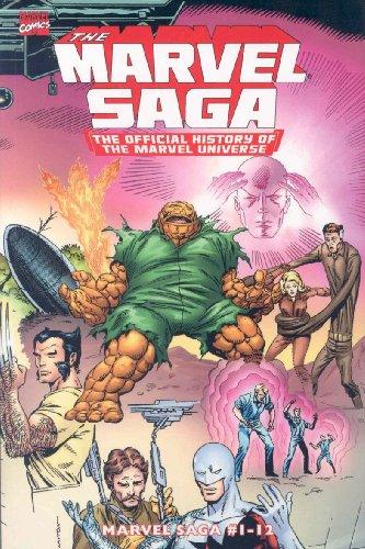 9780785127277: Essential Marvel Saga, Vol. 1 (Marvel Essentials) (v. 1)
