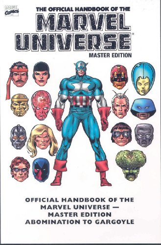 9780785127307: Essential Official Handbook Of The Marvel Universe - Master Edition Volume 1 TPB: v. 1