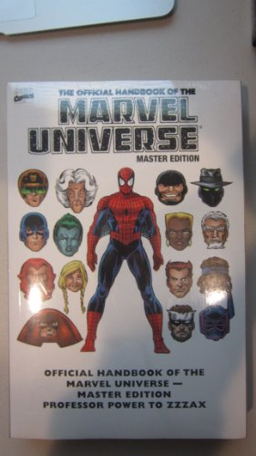 9780785127321: Essential Official Handbook Of The Marvel Universe - Master Edition Volume 3 TPB: v. 3
