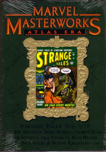 9780785127727: Marvel Masterworks Volume 85: Atlas Era - Strange Tales (Variant Dust Jacket)