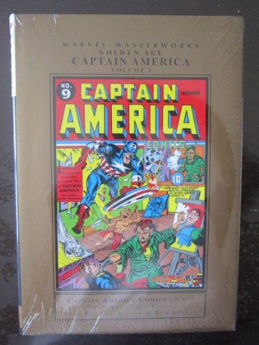 Marvel Masterworks: Golden Age Captain America Vol. 3: Marvel Comics