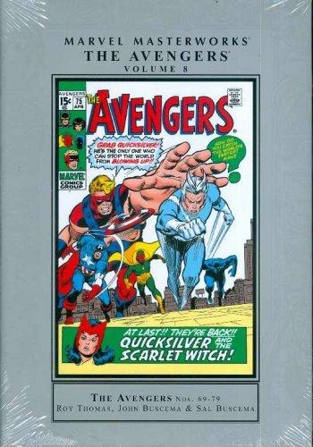 9780785129349: Marvel Masterworks: Avengers 8