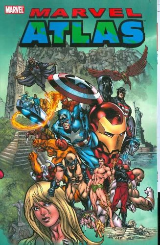9780785129981: Marvel Atlas TPB: 0