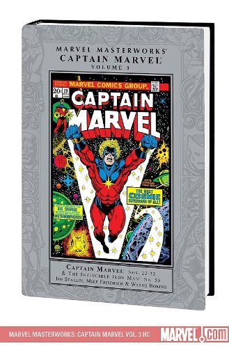 9780785130154: Marvel Masterworks: Captain Marvel 3