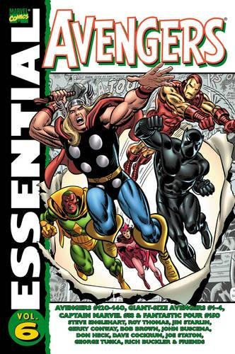 9780785130581: Essential Avengers Volume 6 TPB: v. 6