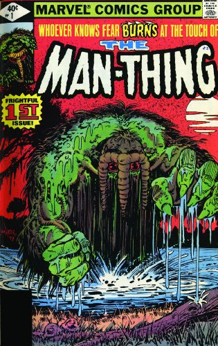 Essential Man-Thing - Volume 2 (Essential (Marvel: Steve Gerber; Michael