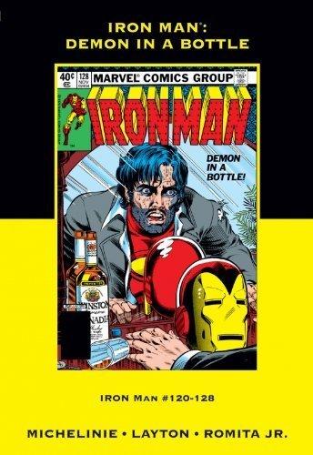 Iron Man (DEMON IN A BOTTLE!, #120-128): Layton and Romita Jr. Michelinie