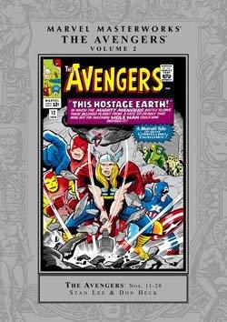 9780785132028: Marvel Masterworks: Avengers 2