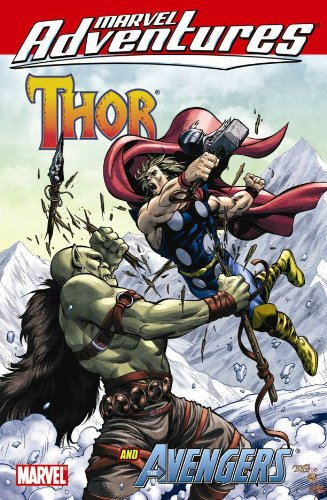 Marvel Adventures Thor and the Avengers Digest: Tobin, Paul