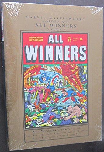 9780785133575: Marvel Masterworks: Golden Age All Winners - Volume 3