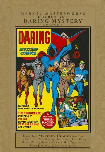 Daring Mystery Comics, Vol. 1, No. 8: Arnold Lorne Hicks; George Kapitan; Larry Antonette