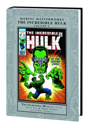 Marvel Masterworks: The Incredible Hulk - Volume 5