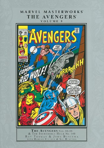 9780785135012: Marvel Masterworks: The Avengers, Volume 9: Nos. 80-88