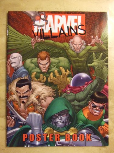 Marvel Villains Poster Book: Marvel