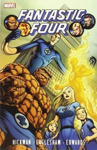 9780785136880: Fantastic Four By Jonathan Hickman Volume 1 TPB (Graphic Novel Pb)
