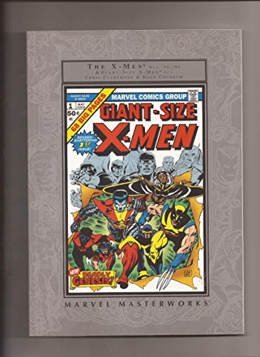 9780785137030: MARVEL MASTERWORKS: THE UNCANNY X-MEN , Vol. 1 (Giant-Size X-Men #1 and The X...