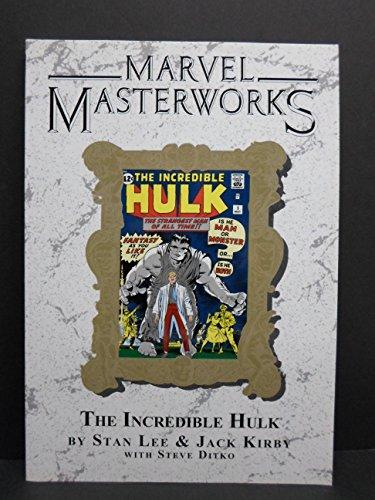 9780785137153: Marvel Masterworks Volume 8 The Incredible Hulk 1 TPB Variant