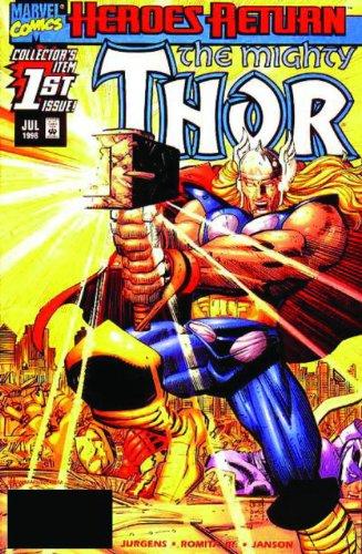 9780785137498: Thor By Dan Jurgens & John Romita Jr. Volume 1 TPB (Graphic Novel Pb)