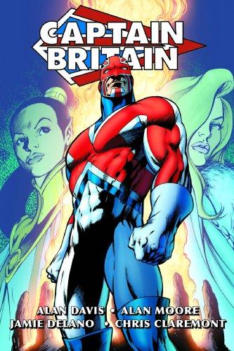 9780785137603: Captain Britain By Alan Moore & Alan Davis Omnibus HC Classic Costume Cover