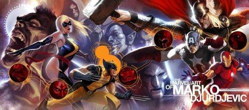 9780785139621: The Marvel Art of Marko Djurdjevic