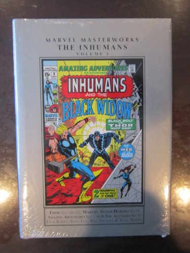 9780785141419: Marvel Masterworks: The Inhumans 1