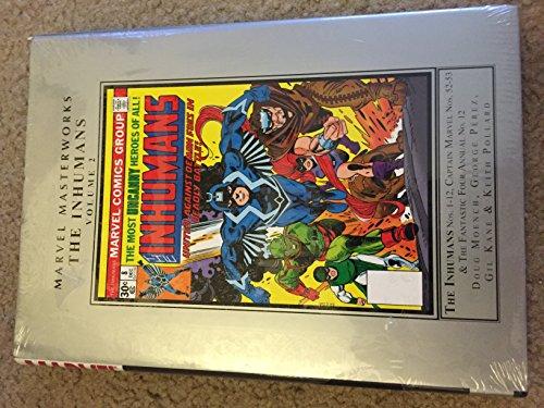 9780785141518: MMW INHUMANS 02 HC (Marvel Masterworks: the Inhumans)