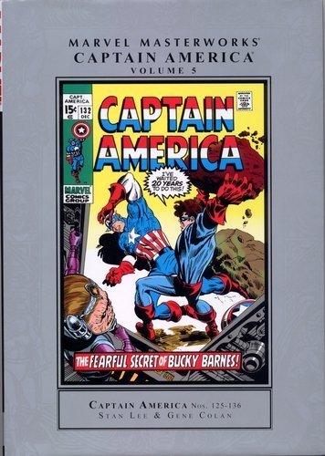 9780785142003: Marvel Masterworks: Captain America 5