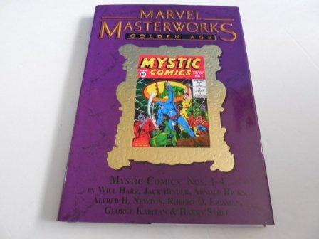Marvel Masterworks Golden Age Volume 154 Mystic Comics 1-4 Gold Foil Limited Edition: Will Harr, ...