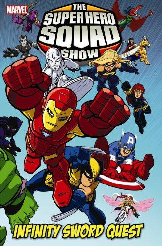 9780785143055: Marvel Super Hero Squad: Infinity Sword Quest HC (Oversized)