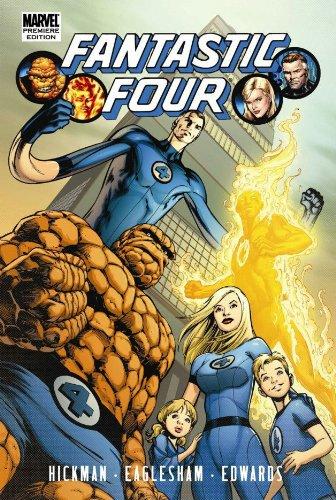 9780785143178: Fantastic Four By Jonathan Hickman Volume 1 Premiere HC