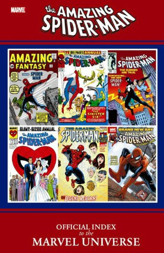 9780785145882: Amazing Spider-man: Official Index to the Marvel Universe