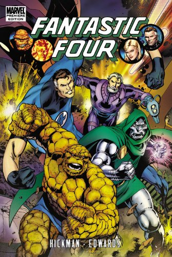 9780785147176: FANTASTIC FOUR BY JONATHAN HICKMAN PREM HC 03