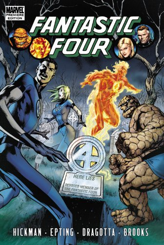 Fantastic Four by Jonathan Hickman Volume 4 (Fantastic Four (Marvel Hardcover))