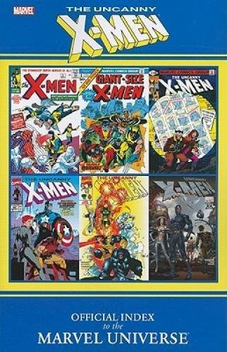 9780785149583: Official Index to the Marvel Universe: Uncanny X-Men
