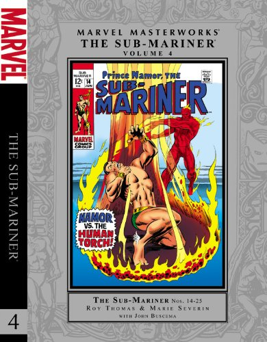 9780785150480: Marvel Masterworks: The Sub-Mariner - Volume 4