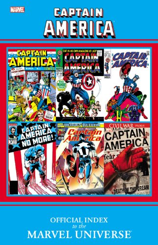 9780785150978: Captain America: Official Index to the Marvel Universe