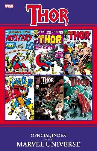 9780785150985: Thor: Official Index to the Marvel Universe